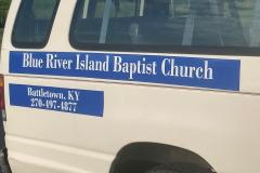 Church Van Decals